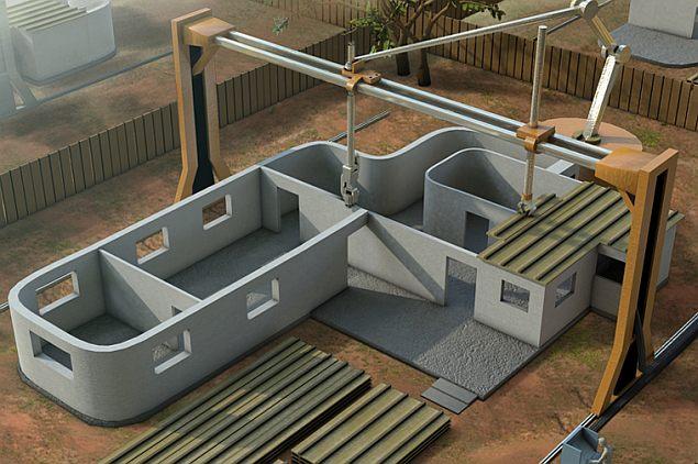 Print je eigen huis met een 3D printer