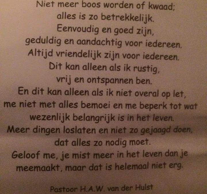 Pastoor van der Hulst