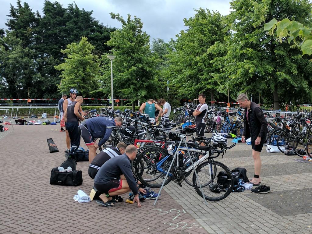 De Vikingen met hun carbon fietsen...