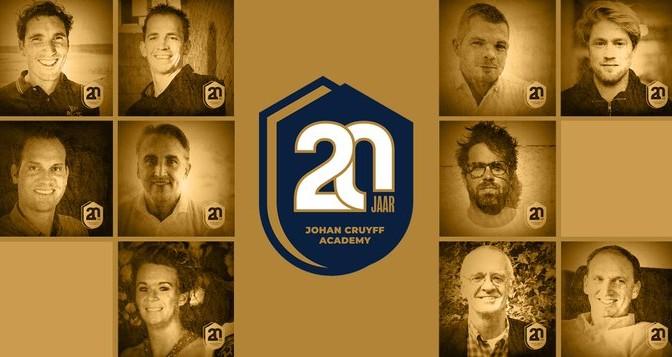 20 jaar onderdeel van de Cruyff Academy